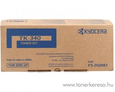 Kyocera FS2020D (TK-340) eredeti black toner 1T02J00EU0 Kyocera FS-2020 lézernyomtatóhoz