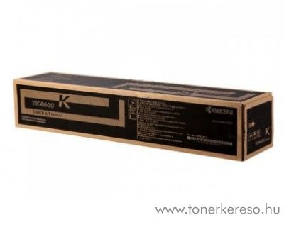 Kyocera FS-C8600DN (TK-8600K) eredeti black toner 1T02MN0NL0 Kyocera FS-C8670DTN lézernyomtatóhoz