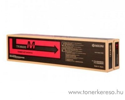 Kyocera FS-C8600DN (TK-8600M) eredeti magenta toner 1T02MNBNL0 Kyocera FS-C8600DN lézernyomtatóhoz