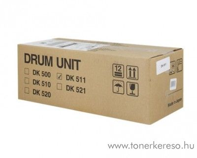 Kyocera FSC5015N (DK-511) eredeti black drum kit 302HJ93011 Kyocera FS-C5015N lézernyomtatóhoz