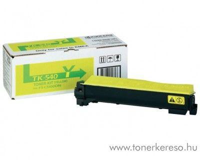 Kyocera FSC5100DN (TK-540Y) eredeti yellow toner 1T02HLAEU0 Kyocera FS-C5100 DN lézernyomtatóhoz