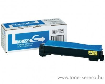 Kyocera FSC5200DN (TK-550C) eredeti cyan toner 1T02HMCEU0 Kyocera FS-C5200 DN lézernyomtatóhoz