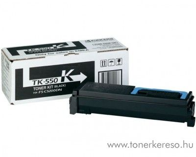 Kyocera FSC5200DN (TK-550K) eredeti black toner 1T02HM0EU0 Kyocera FS-C5200 DN lézernyomtatóhoz