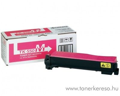 Kyocera FSC5200DN (TK-550M) eredeti magenta toner 1T02HMBEU0