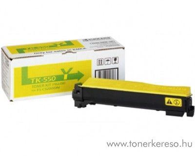 Kyocera FSC5200DN (TK-550Y) eredeti yellow toner 1T02HMAEU0