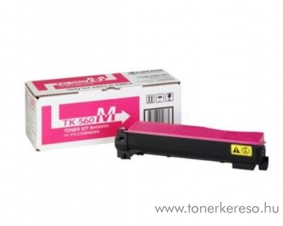 Kyocera FSC5300DN (TK-560M) eredeti magenta toner 1T02HNBEU0 Kyocera FS-C5350 DN lézernyomtatóhoz