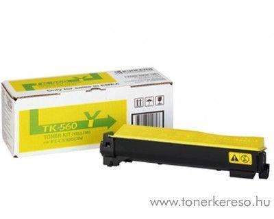 Kyocera FSC5300DN (TK-560Y) eredeti yellow toner 1T02HNAEU0 Kyocera ECOSYS P 6030 cdn lézernyomtatóhoz