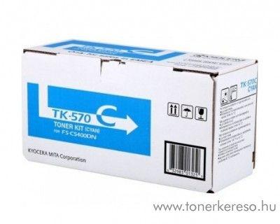 Kyocera FSC5400DN (TK-570C) eredeti cyan toner 1T02HGCEU0 Kyocera ECOSYS P 7035 cdn  lézernyomtatóhoz