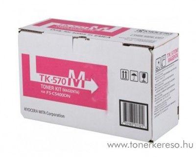 Kyocera FSC5400DN (TK-570M) eredeti magenta toner 1T02HGBEU0 Kyocera ECOSYS P 7035 cdn  lézernyomtatóhoz