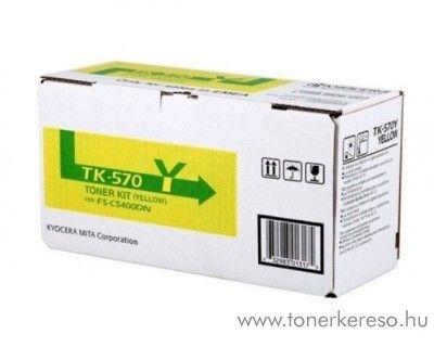 Kyocera FSC5400DN (TK-570Y) eredeti yellow toner 1T02HGAEU0 Kyocera ECOSYS P 7035 cdn  lézernyomtatóhoz