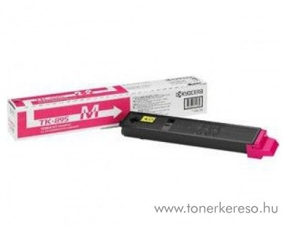 Kyocera FSC8020MFP (TK-895M) eredeti magenta toner 1T02K0BNL0 Kyocera FS-C8525MFP lézernyomtatóhoz