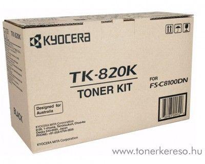 Kyocera FSC8100DN (TK-820K) eredeti black toner 1T02HP0EU0 Kyocera FS-C8100DN lézernyomtatóhoz