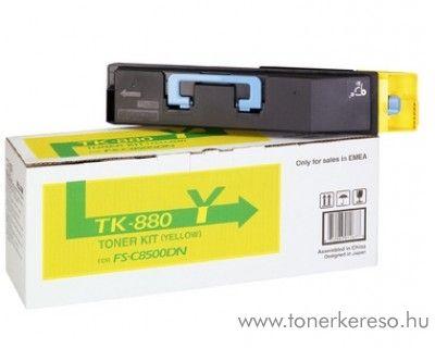 Kyocera FSC8500DN (TK-880Y) eredeti yellow toner 1T02KAANL0 Kyocera FSC8500DN lézernyomtatóhoz