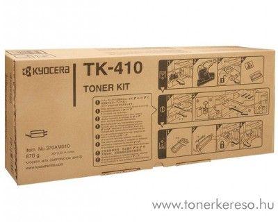 Kyocera KM2020 (TK-410) eredeti black toner 370AM010 Kyocera Mita KM-1635J lézernyomtatóhoz