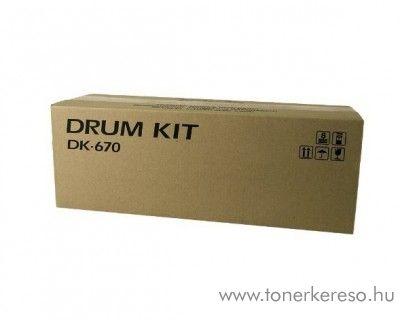 Kyocera KM2540 (DK-670) eredeti black drum unit 302H093011 Kyocera KM 3060 fénymásolóhoz