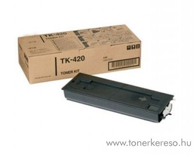 Kyocera KM2550 (TK-420) eredeti black toner 370AR010 Kyocera KM 2550S fénymásolóhoz