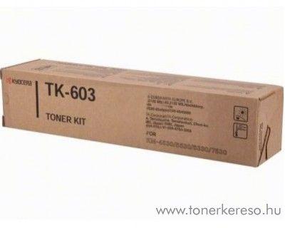 Kyocera KM4530 (TK-603) eredeti black toner 370AE010 Kyocera KM 7530 fénymásolóhoz