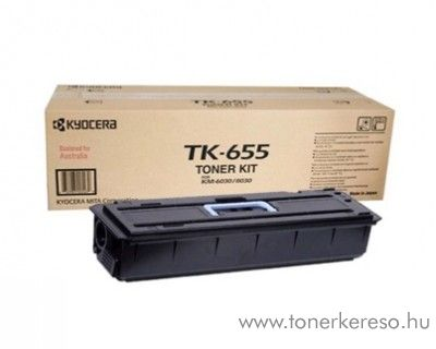 Kyocera KM6030 (TK-655) eredeti black toner 1T02FB0EU0 Kyocera KM 6030P fénymásolóhoz