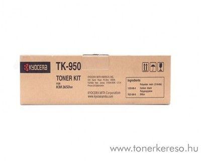 Kyocera KM-3650W (TK950) eredeti black toner 1T05H60N20 Kyocera KM-3650w fénymásolóhoz