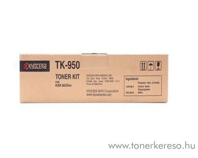 Kyocera KM-3650W (TK950) eredeti black toner 1T05H60N20