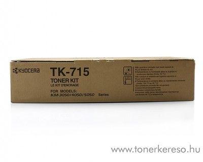 Kyocera KM 4050/5050 (TK-715) eredeti black toner 1T02GR0EU0 Kyocera KM-4050 fénymásolóhoz