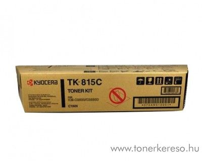 Kyocera KMC2630 (TK-815C) eredeti cyan toner 370AN510