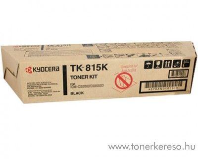 Kyocera KMC2630 (TK-815K) eredeti black toner 370AN010 Kyocera KM-C2630 fénymásolóhoz