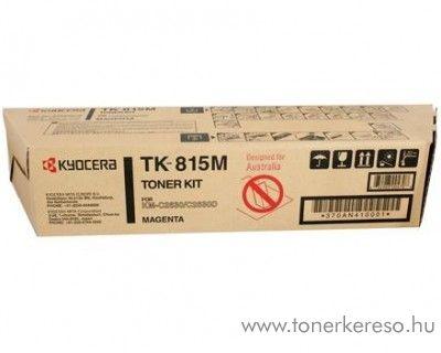 Kyocera KMC2630 (TK-815M) eredeti magenta toner 370AN410 Kyocera KM-C2630DR fénymásolóhoz
