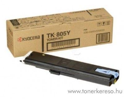 Kyocera KMC850 (TK-805Y) eredeti yellow toner 370AL310 Kyocera KM-C850DSPN fénymásolóhoz