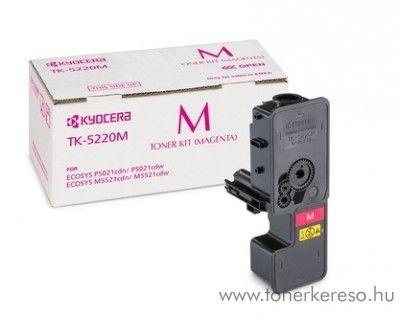 Kyocera P5021cdn (TK5220M) eredeti magenta toner 1T02R9BNL1 Kyocera ECOSYS M5521cdw lézernyomtatóhoz