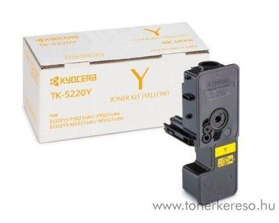 Kyocera P5021cdn (TK5220Y) eredeti yellow toner 1T02R9ANL1 Kyocera ECOSYS M5521cdw lézernyomtatóhoz
