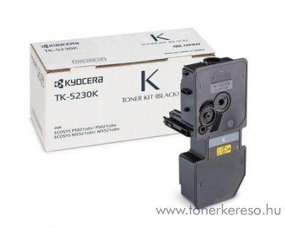 Kyocera P5021cdn (TK5230K) eredeti black toner 1T02R90NL0 Kyocera ECOSYS M5521cdw lézernyomtatóhoz