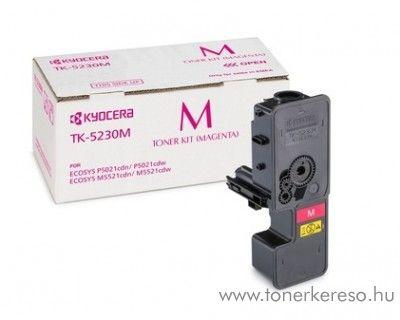 Kyocera P5021cdn (TK5230M) eredeti magenta toner 1T02R9BNL0 Kyocera ECOSYS P5021cdn lézernyomtatóhoz