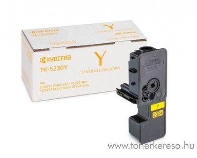 Kyocera P5021cdn (TK5230Y) eredeti yellow toner 1T02R9ANL0