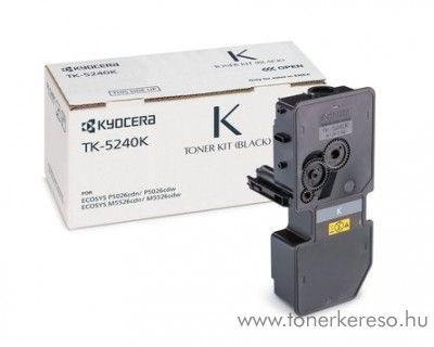Kyocera P5026cdn (TK5240K) eredeti black toner 1T02R70NL0 Kyocera ECOSYS M5526cdw lézernyomtatóhoz