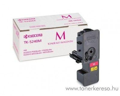 Kyocera P5026cdn (TK5240M) eredeti magenta toner 1T02R7BNL0 Kyocera ECOSYS M5526cdn lézernyomtatóhoz