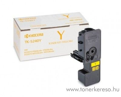 Kyocera P5026cdn (TK5240Y) eredeti yellow toner 1T02R7ANL0 Kyocera ECOSYS M5526cdw lézernyomtatóhoz