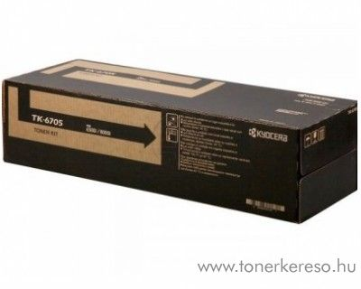 Kyocera TaskAlfa6500i (TK-6705) eredeti black toner 1T02LF0NL0 Kyocera TASKalfa 8000i fénymásolóhoz