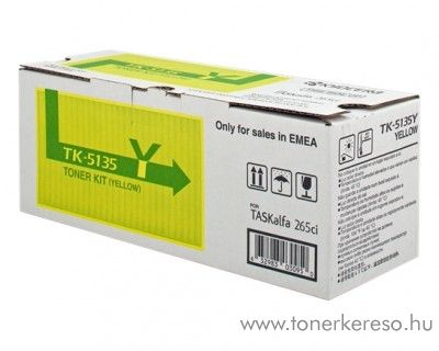 Kyocera TASKAlfa 265ci eredeti yellow toner 1T02PAANL0 Kyocera TASKalfa 265ci fénymásolóhoz