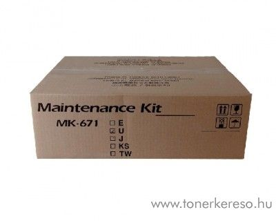 Kyocera KM2540 (MK671) eredeti maintenance kit 1702K58NL0 Kyocera TASKalfa 300i fénymásolóhoz