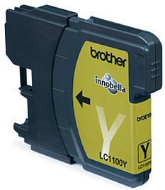 Brother LC1100 Yellow tintapatron Brother MFC-6890CDW tintasugaras nyomtatóhoz