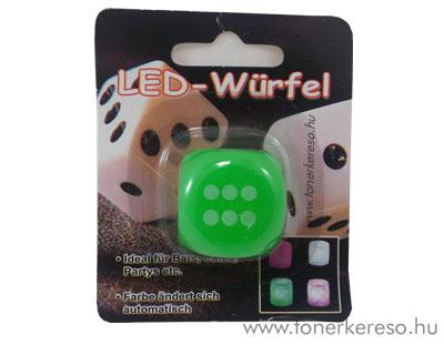 LED-es dobókocka