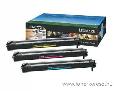 Lexmark 12N0772 színes drum Lexmark C912 Color Laser Printer lézernyomtatóhoz
