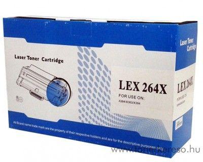 Lexmark 264X utángyártott kompatibilis toner OPLX264X