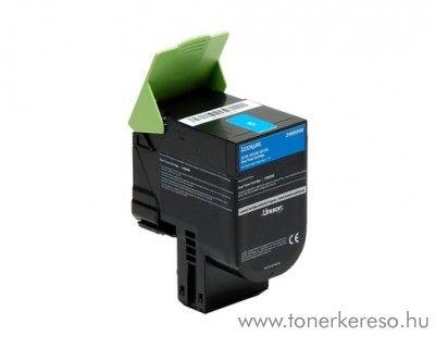 Lexmark C2132/XC2130 eredeti cyan toner 24B6008