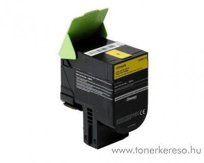 Lexmark C2132/XC2130 eredeti yellow toner 24B6010 Lexmark C2132 lézernyomtatóhoz