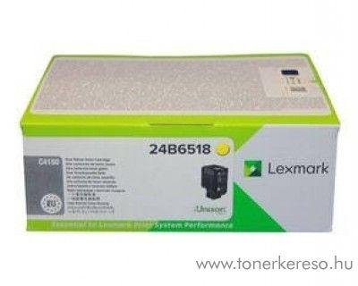 Lexmark C4150 eredeti yellow toner 24B6518