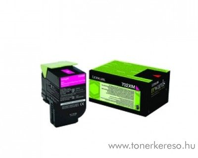 Lexmark CS310/410/510 eredeti magenta toner 70C2XM0