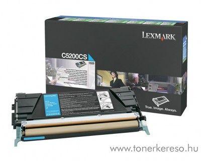 Lexmark C530 eredeti cyan toner C5200CS Lexmark C530DN lézernyomtatóhoz