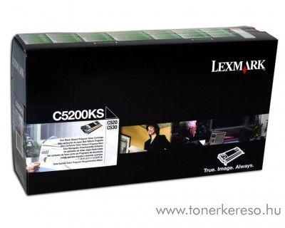 Lexmark C530 eredeti fekete black toner C5200KS